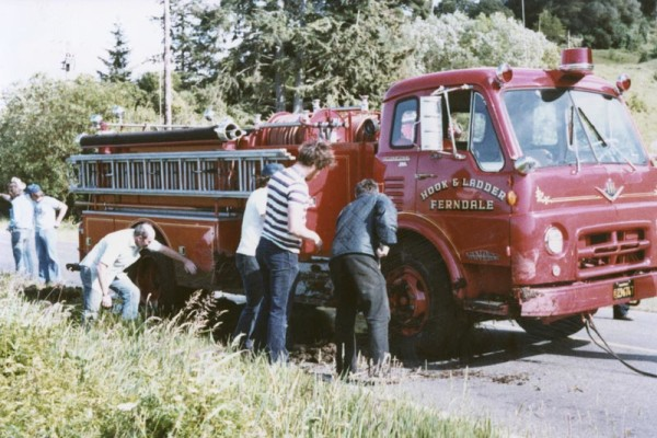 1969 Van Pelt after going off-road
