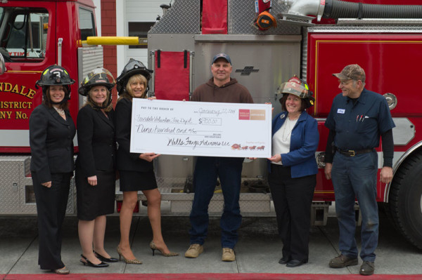 Wells Fargo Advisors donation to FVFD