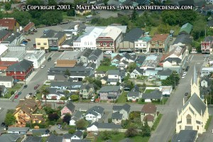 Ariel view of Ferndale