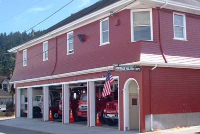 Ferndale Volunteer Fire Hall